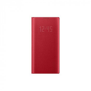 Samsung Original Galaxy Note 10 LED View Cover Case - Red