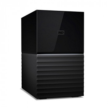 WD My Book Duo 16 TB Desktop Hard Drive - Black
