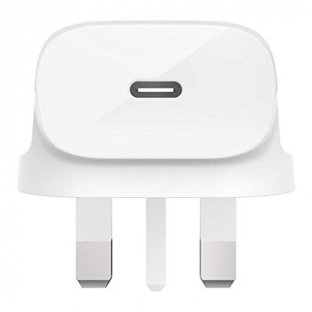 Belkin USB-C Wall Charger 18 W (iPhone Fast Charger for iPhone 11, 11 Pro/Pro Max, XS, Max, Xr, X, SE, 8, Plus, iPad Pro 10.5 Inch, 12.9 Inch 2nd Generation)