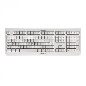 Cherry KC 1000 - keyboards (Wired, USB, Grey, USB, 0 - 50 °C, -20 - 65 °C)