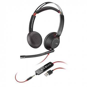 Plantronics Blackwire C5220 Stereo USB PC Headset