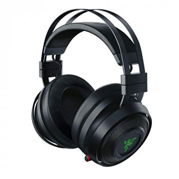 Razer Nari Wired/Wireless Gaming Headset with THX Spatial Audio, Cooling Gel Cushion, 2.4 GHz Wireless Audio and Microphone with Game/Chat Balance
