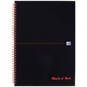 Black n Red Wiro NBk A4 Feint 846350115