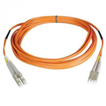 Tripp Lite 0.3M Duplex Multimode 62.5/125 Fiber Optic Patch Cable LC/LC 1' 1ft 0.3 Meter - patch cable - 30 cm - orange(N320-001)