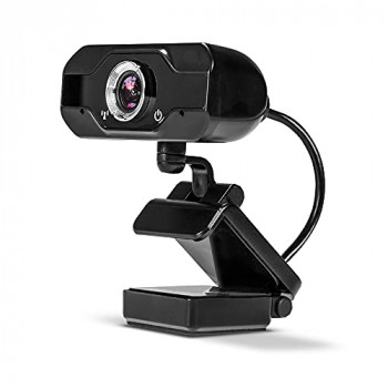 LINDY Full HD 1080p Webcam with Microphone