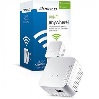 Devolo dLAN Powerline 550 Wi-Fi Add-On Adapter