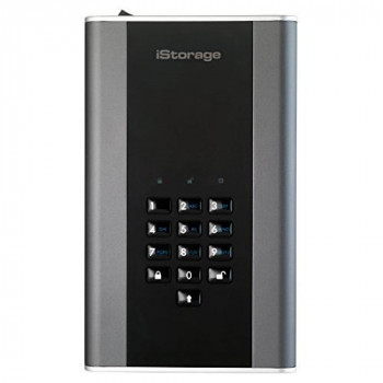 iStorage IS-DT2-256-3000-C-G 3TB diskAshur DT2 USB 3.1 secure encrypted desktop drive
