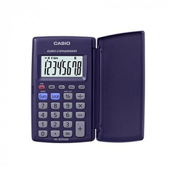 Casio HL 820 VER  Calculator, Black