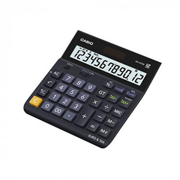 Casio DH-12TER 12 Digit Tax and Currency Desk Calculator
