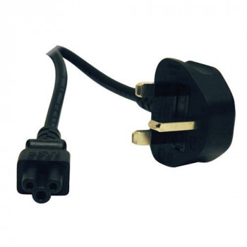 Tripp Lite 6ft Computer Power Cord UK Cable C5 to BS-1363 Plug 13A 6' - power cable - 1.8 m(P060-006)