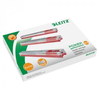 Leitz 55940000 Staple Cassette Cartridge for Heavy Duty Stapler 12 mm - Pack of 5