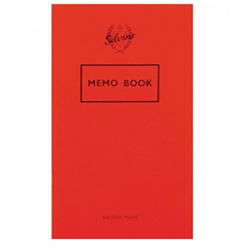 Silvine Memo Notebook 159x95mm Feint - Pack of 24 042F