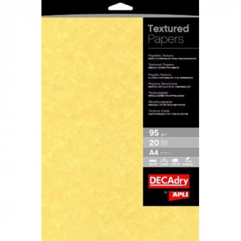 Decadry Letterhead/ 95gsm Presentation Paper - Gold (Pack of 100)