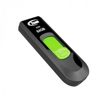 Team C141 64GB USB 2.0 Green USB Flash Drive