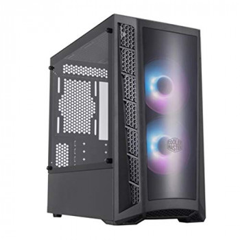 Cooler Master MB320L ARGB Tempered Glass MicroATX PC Gaming Case