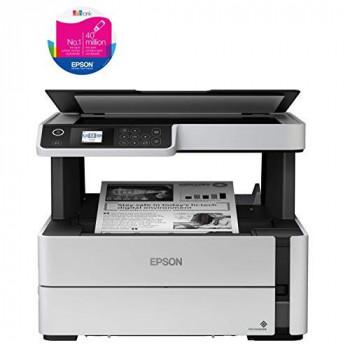Epson EcoTank ET-M2170 3-in-1 Mono Inkjet Wi-Fi Printer with Refillable Ink Tank