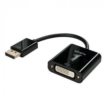 LINDY 41734 DisplayPort to DVI-D Active Adapter Converter
