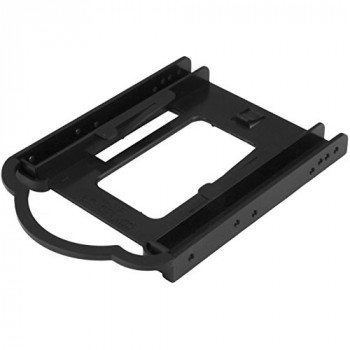 StarTech 2.5 inch SSD/HDD Mounting Bracket for 3.5 inch Drive Bay - Tool-less Installation