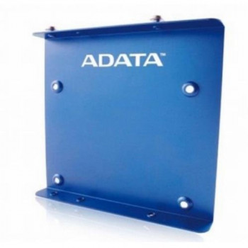 "Adata SSD Mounting Kit Frame to Fit 2.5"" SSD or HDD into a 3.5"" Drive Bay Blue Metal"