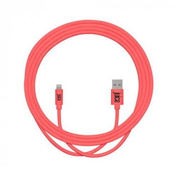 Juice XL Apple Lightning Charge and Sync Cable, Coral