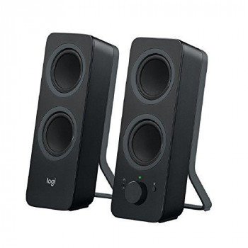 Logitech Z207 Bluetooth Speakers/PC Speakers or 3.5 mm Input, 10 W - Black