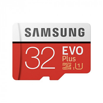 Samsung Memory Evo Plus 32 GB Micro SD Card with Adapter - Standard Packaging