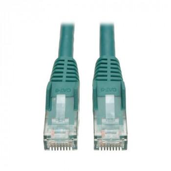 Tripp Lite Cat6 Gigabit Snagless Molded Patch Cable (RJ45 M/M) - Green 3.05 m / 10-ft.  (N201-010-GN)