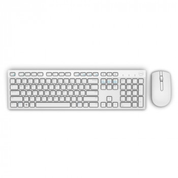 Dell Wireless Keyboard and Mouse - White