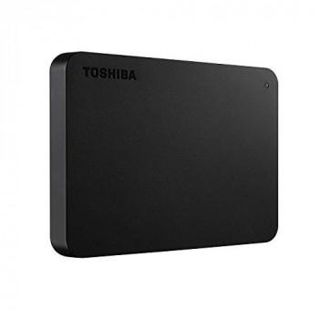 Toshiba HDTB405EK3AA 500GB Canvio Basics 2.5-Inch USB 3.0 Portable External Hard Drive - Black