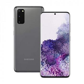 Samsung Galaxy S20 Mobile Phone; Sim Free Smartphone - Cosmic Grey (UK version)