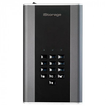 iStorage IS-DT2-256-2000-C-G 2TB diskAshur DT2 USB 3.1 secure encrypted desktop drive