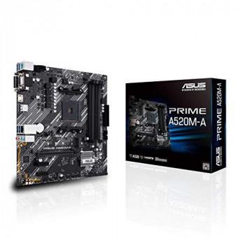 Carte Mère Asus Prime A520M-A (AM4) Micro-ATX