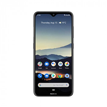 Nokia 7.2 6.3-Inch Android UK SIM-Free Smartphone with 4GB RAM and 64GB Storage (Dual Sim) - Charcoal