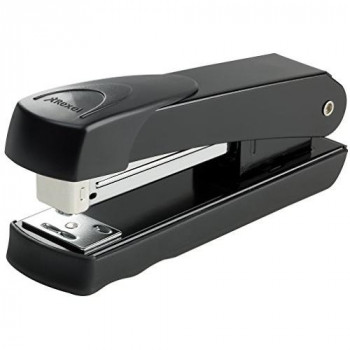 Rexel Meteor Half Strip Stapler 65mm Throat Depth Black (20 Sheet Capacity)