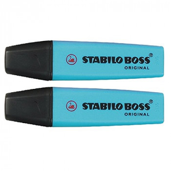 Stabilo Boss Highlighter Blue [Pack of 10]