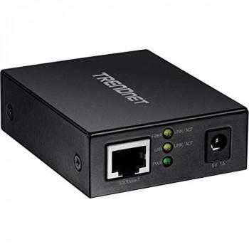 TRENDnet TFC-FSFP 100BASE-T to SFP Fiber Media Converter (Black)
