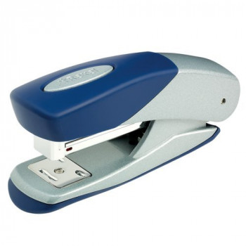 Rexel Matador Half Strip Stapler 50mm Throat Depth Silver/Blue (25 Sheet Capacity)