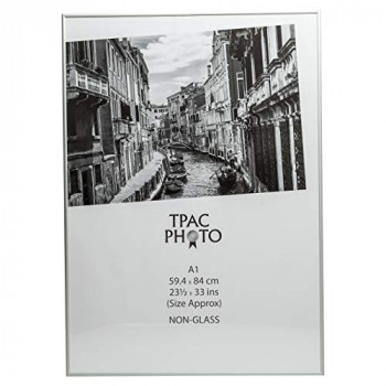 The Photo Album Company PAAFA1B Luxury Satin A1 Size Aluminium Frame