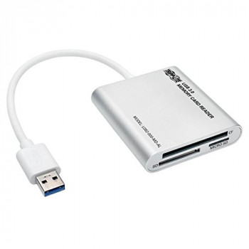 Tripp Lite USB 3.0 SuperSpeed Multi-Drive Memory Card Reader/Writer 5Gbps Aluminum Case (U352-000-MD-AL)