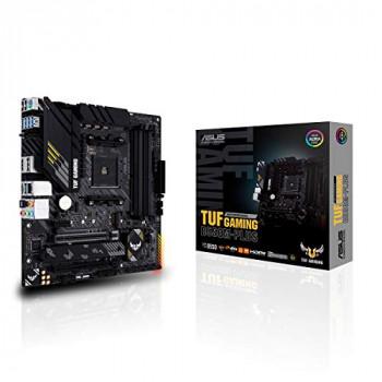 ASUS TUF B550M-PLUS Gaming Motherboard, AMD, AM4, Micro-ATX, 128GB DDR4, 4 DIMM