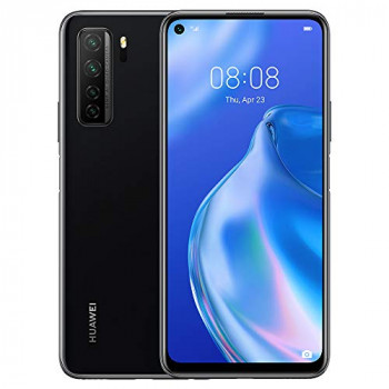 """HUAWEI P40 Lite 5G - 128 GB 6.5"""" Smartphone with Punch FullView Display, 64 MP AI Quad Camera, 4000 mAh Large Battery, 40W SuperCharge, 6 GB RAM, SIM-Free Android Mobile Phone, Dual SIM, Black"""