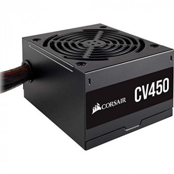 Corsair CV450, CV Series, 80 PLUS Bronze Certified, 450 Watt Non-Modular Power Supply - Black