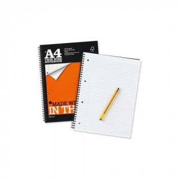 Silvine A4 4HP Recycled Notebook PK6