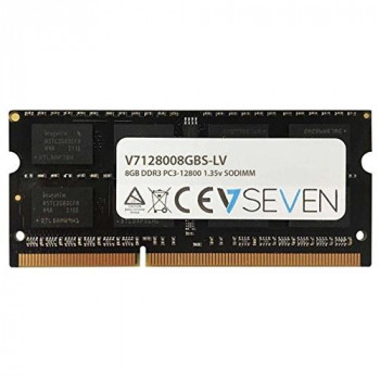 V7 V7128008GBS-LV Notebook DDR3 SO-DIMM Memory Module 8GB (1600MHZ, CL11, PC3-12800, 204 polig, 1.35 Volt, Low Voltage)