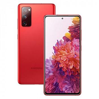 Samsung Galaxy S20 FE 5G Mobile Phone; Sim Free Smartphone - Cloud Red (UK Version)