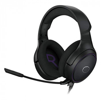 Cooler Master MH630 Gaming Headset with 2.0 Hi-Fi Stereo - PC & Console Compatible with 50mm Neodymium Audio Drivers, Ultra-Clear Boom Mic and Portable Frame - 3.5mm Standard Jack ,19.2