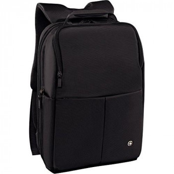 "Wenger 601068 RELOAD 14"" Laptop Backpack , Padded laptop compartment with iPad/Tablet / eReader Pocket in Black {17 Litres}"