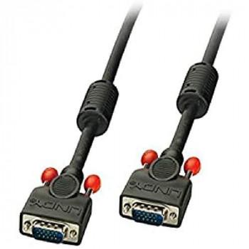 LINDY 1 m Premium Male to Male VGA/SVGA Cable - Black