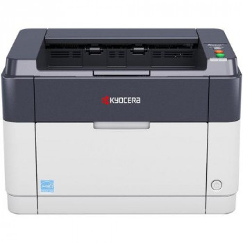 Kyocera Ecosys FS-1041 Monochrome Black and White Laser Printer. USB 2.0, 1200 dpi, Up to 20 Pages per Minute