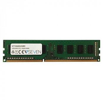 V7 V7106002GBD Desktop DDR3 DIMM Memory Module 2GB (1333MHZ, CL9, PC3-10600, 240 polig, 1.5 Volt)